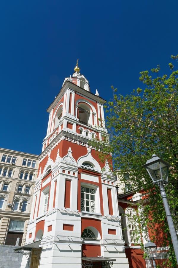 Kerk van de klokketoren van Heilige George Victorious stock fotografie
