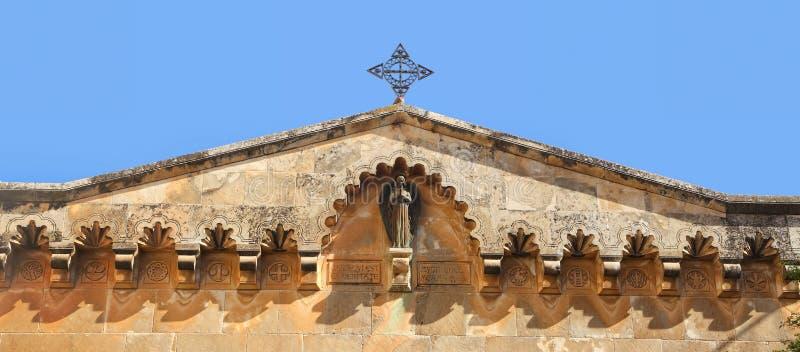 Kerk van de Veroordeling en de Heffing van het Kruis stock afbeeldingen