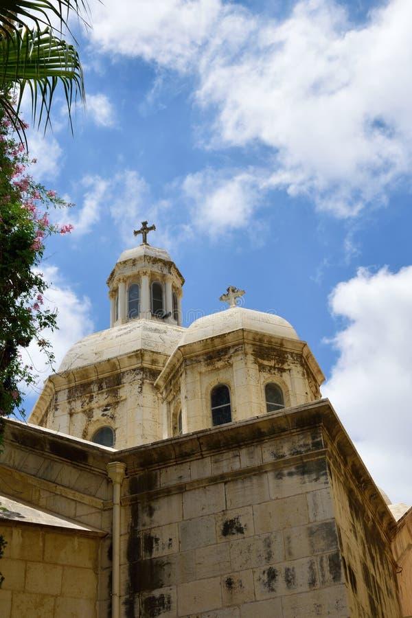 Kerk van de Veroordeling, Jeruzalem stock fotografie