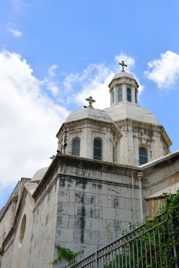 Kerk van de Veroordeling, Jeruzalem stock afbeelding