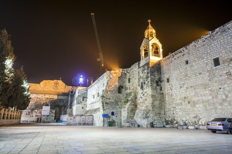 Kerk van Geboorte van Christus, Bethlehem stock fotografie