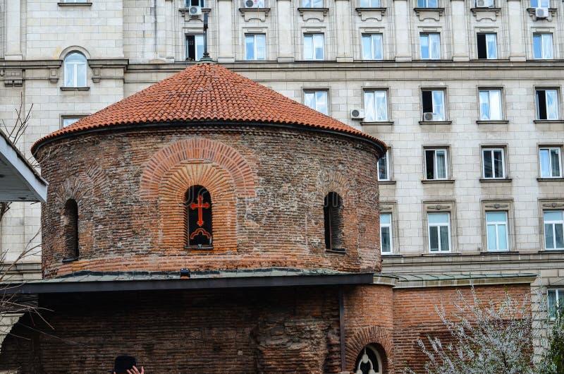 Kerk van Heilige George, Sofia stock fotografie