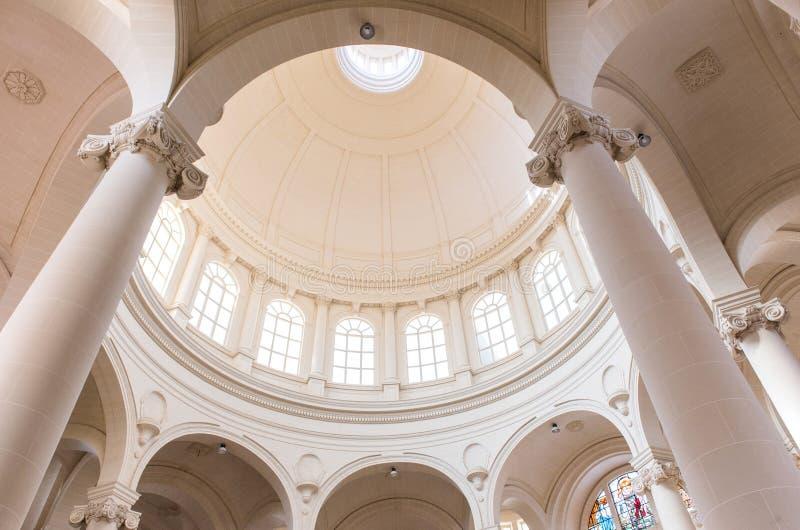 Kerk van Heilige John Doopsgezind, Malta stock afbeelding