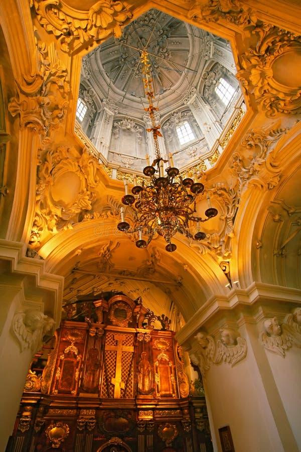Kerk van heilige Konstatin en Elena stock foto