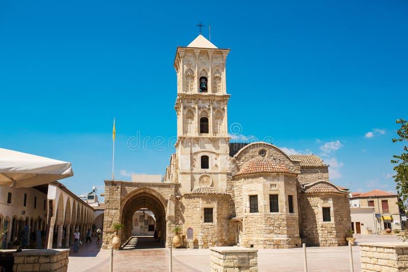 Kerk van Heilige Lazarus, Larnaca, Cyprus royalty-vrije stock foto's