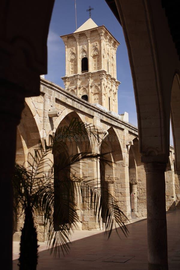 Kerk van Heilige Lazarus in Larnaca, Cyprus royalty-vrije stock afbeeldingen