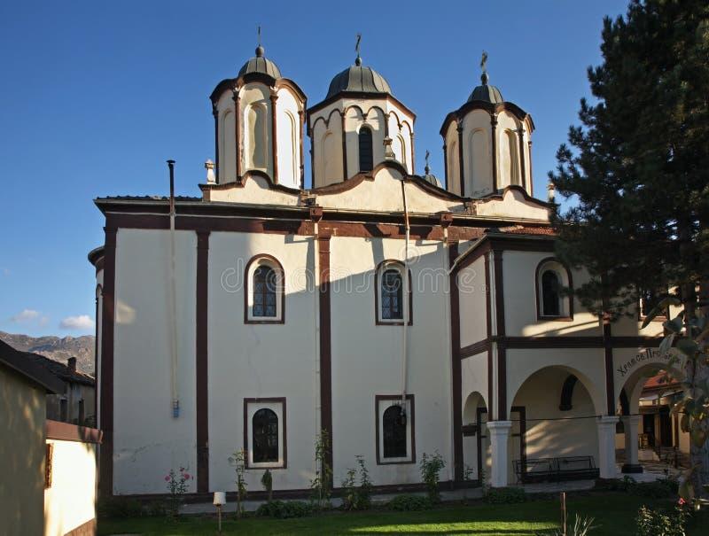 Kerk van Heilige Transfiguratie in Prilep macedonië royalty-vrije stock afbeelding