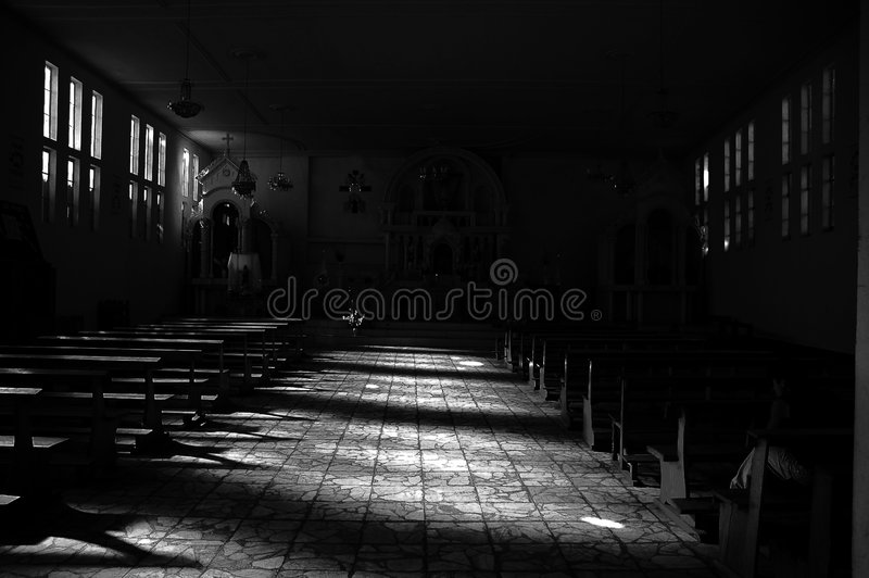 Kerk van Huaraz Peru.   stock foto's