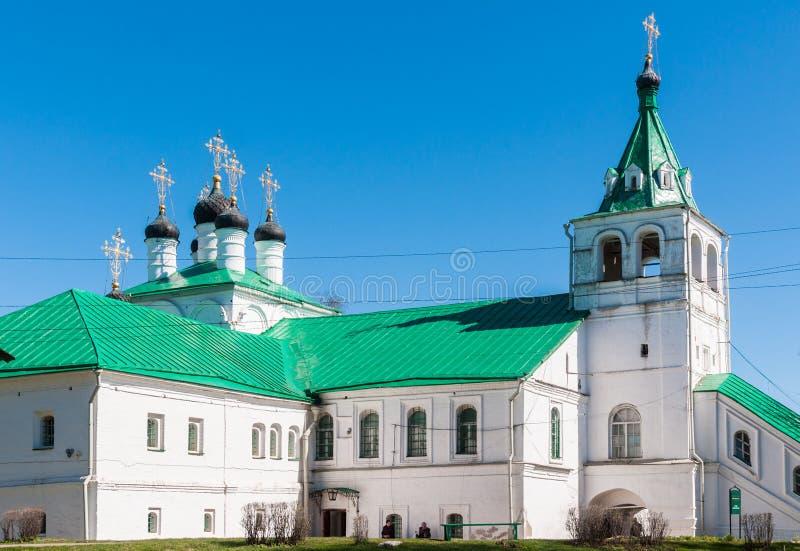 Kerk van Interventie, Alexandrov, Vladimir Oblast, Rusland royalty-vrije stock afbeeldingen