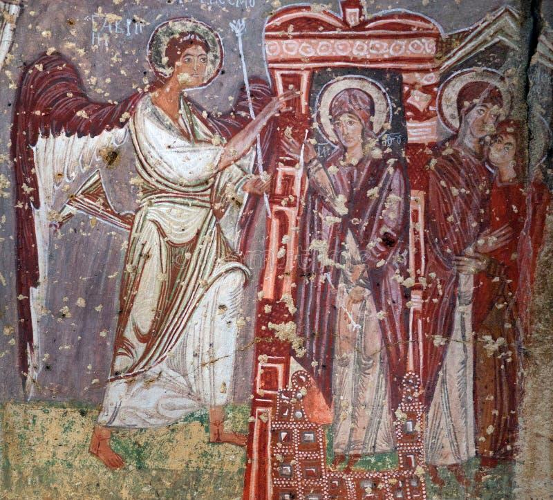 Kerk van Keizer Nicaphorus Phocas in Cappadocia, Turkije stock foto's