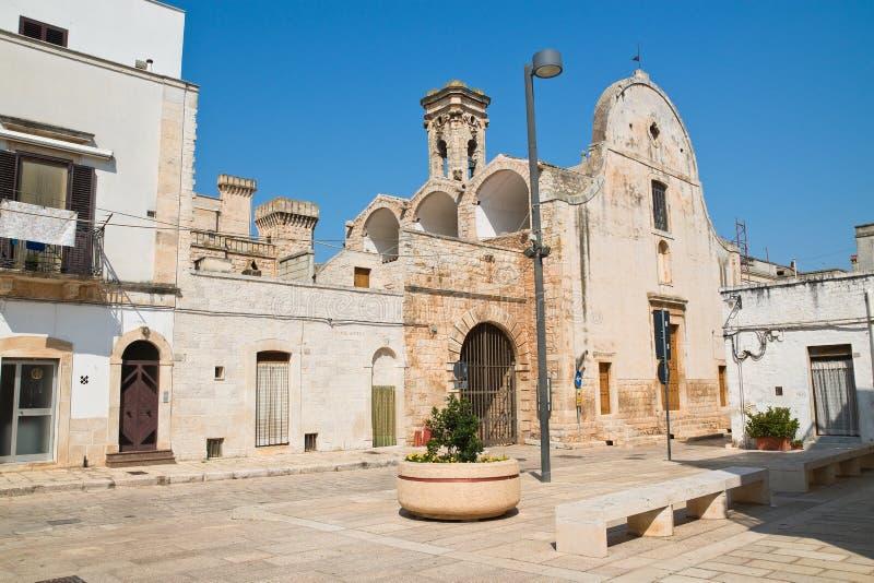 Kerk van Maddalena Sammicheledi Bari Puglia Italië stock fotografie