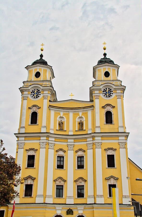 Kerk van Mondsee royalty-vrije stock foto's