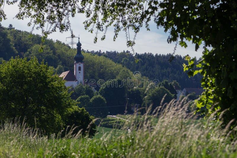 Kerk van Neukirchen stock afbeeldingen