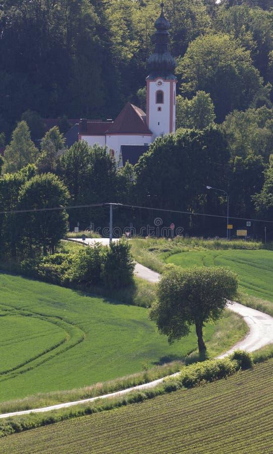 Kerk van Neukirchen royalty-vrije stock afbeelding