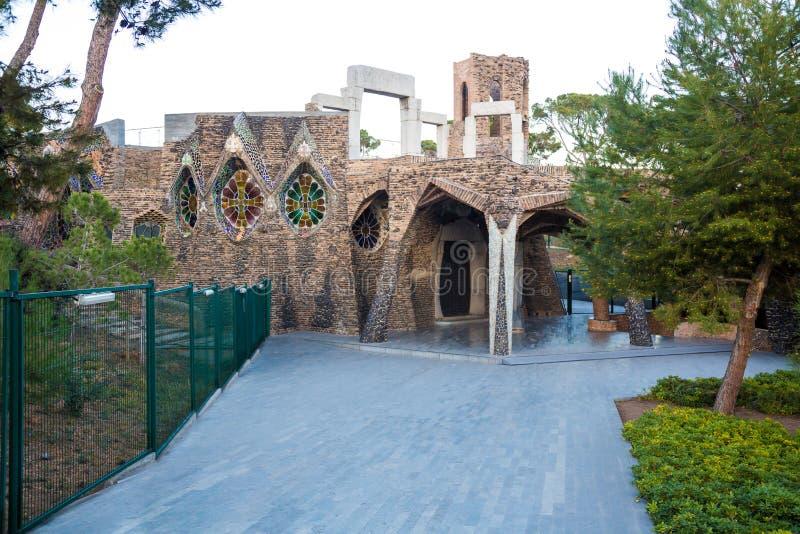 Kerk van niagã el ¼ van Colà ² stock fotografie