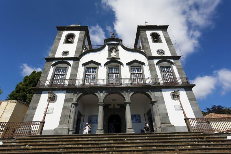 Kerk van Nossa Senhora do Monte royalty-vrije stock fotografie