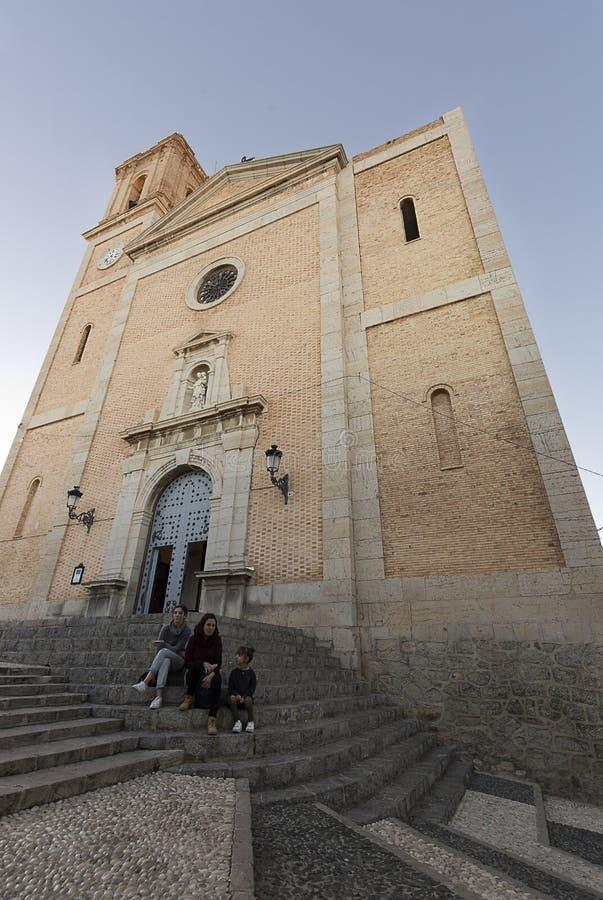 Kerk van Onze Dame van Consuelo in Altea royalty-vrije stock afbeelding