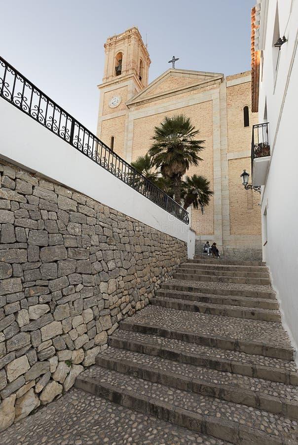 Kerk van Onze Dame van Consuelo in Altea royalty-vrije stock foto's