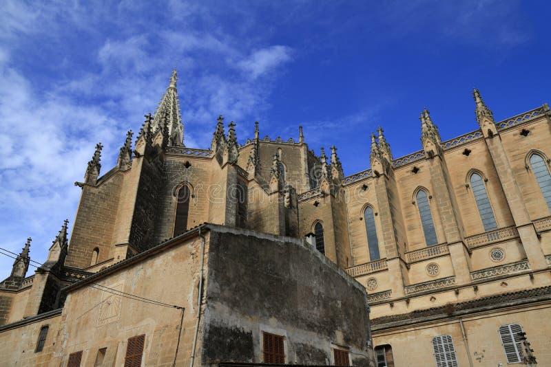 Kerk van onze Dame van Verdriet in Manacor, Mallorca, Spanje royalty-vrije stock foto