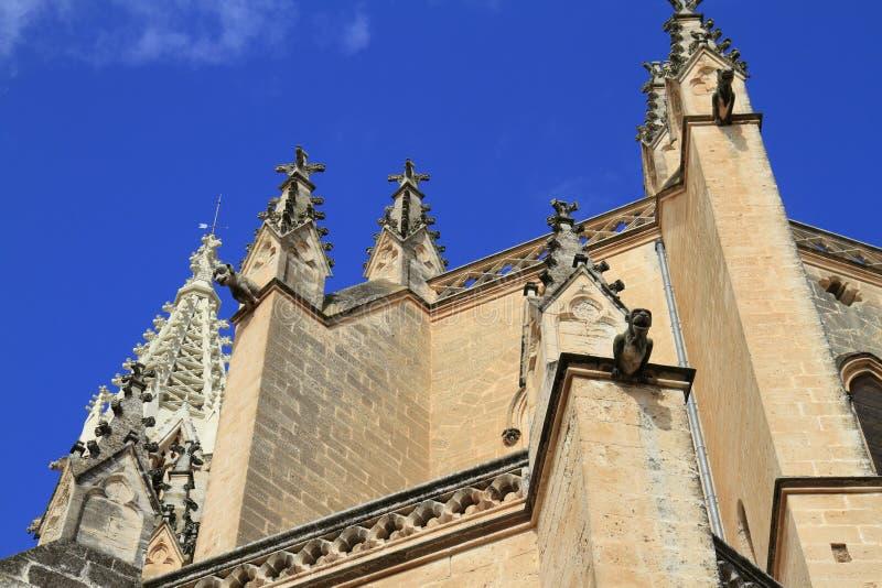 Kerk van onze Dame van Verdriet in Manacor, Mallorca, Spanje stock foto