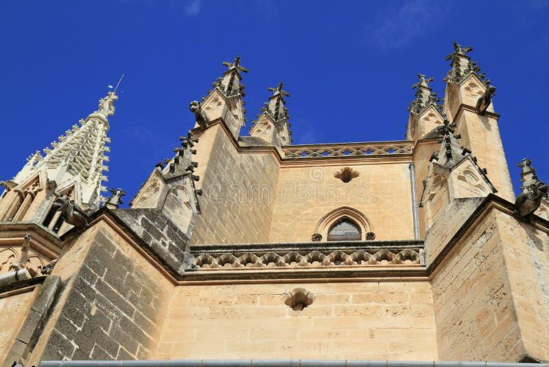 Kerk van onze Dame van Verdriet in Manacor, Mallorca, Spanje royalty-vrije stock afbeeldingen