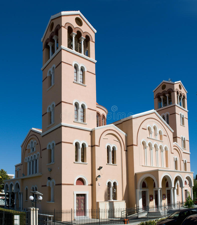 Kerk van Panagia in Limassol royalty-vrije stock afbeelding