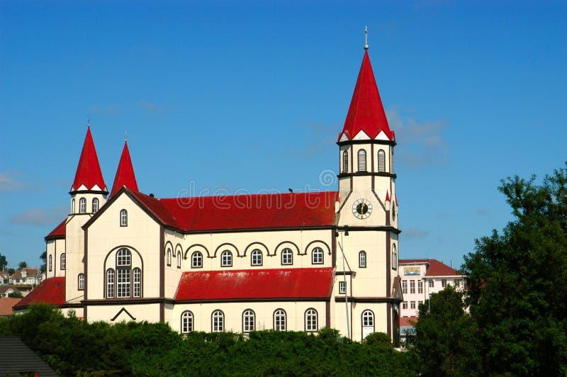 Kerk van Puerto Varas.Chile royalty-vrije stock foto's