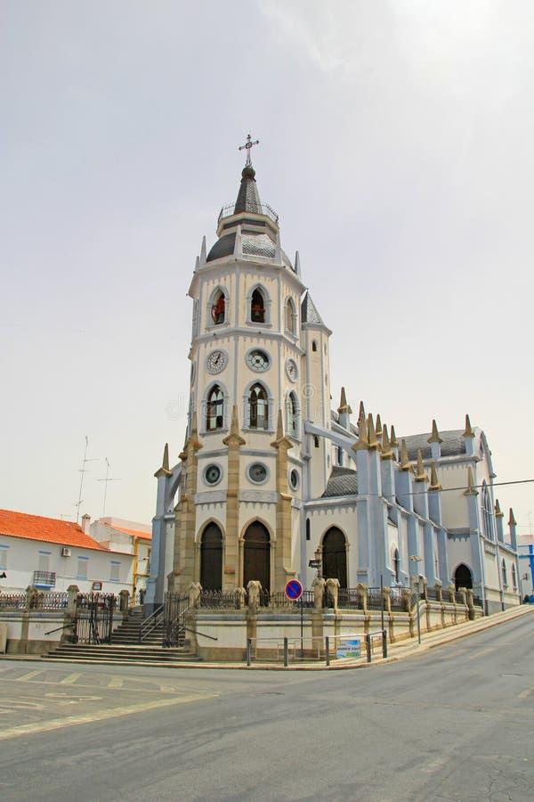 Kerk van Reguengos DE Monsaraz, Portugal royalty-vrije stock afbeelding