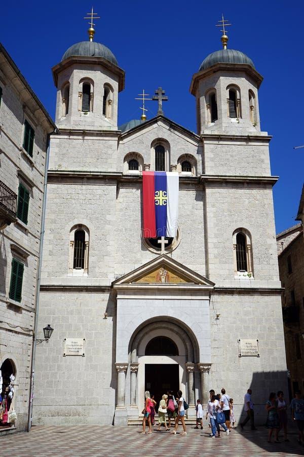 Kerk van Saint Nicolas stock foto's