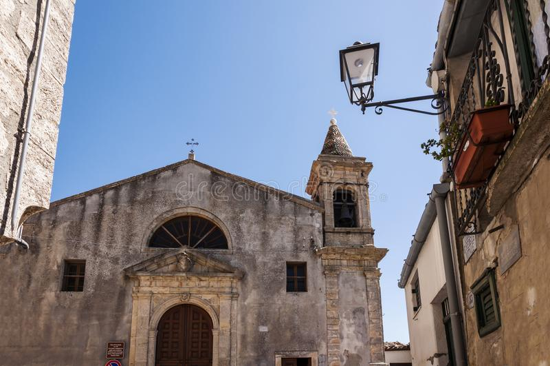 Kerk van San Cataldo stock fotografie
