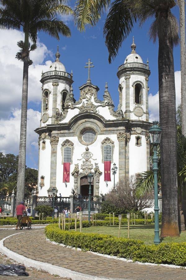 Kerk van San Francisco DE Assis royalty-vrije stock foto