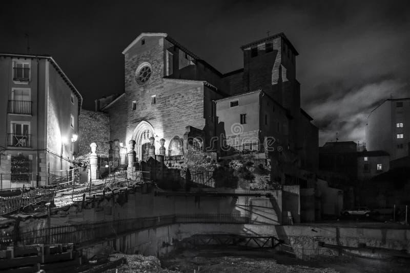 Kerk van San Gil in Burgos, Spanje stock fotografie