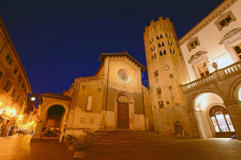 Kerk van Sant'Andrea stock fotografie