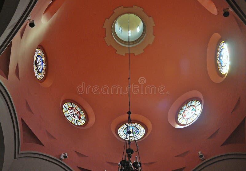 Kerk van Sant Romà stock fotografie