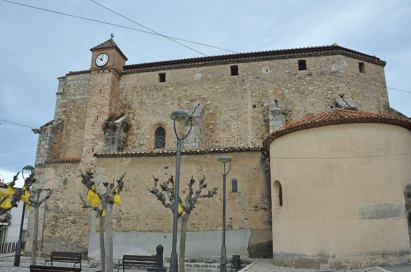 Kerk van Sant Sadurnà royalty-vrije stock foto's