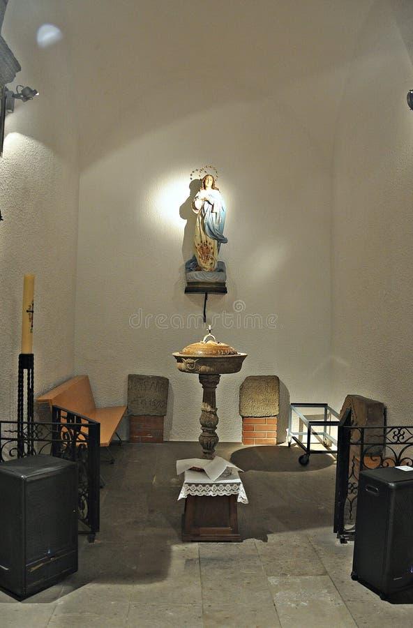 Kerk van Sant Sadurnà royalty-vrije stock fotografie