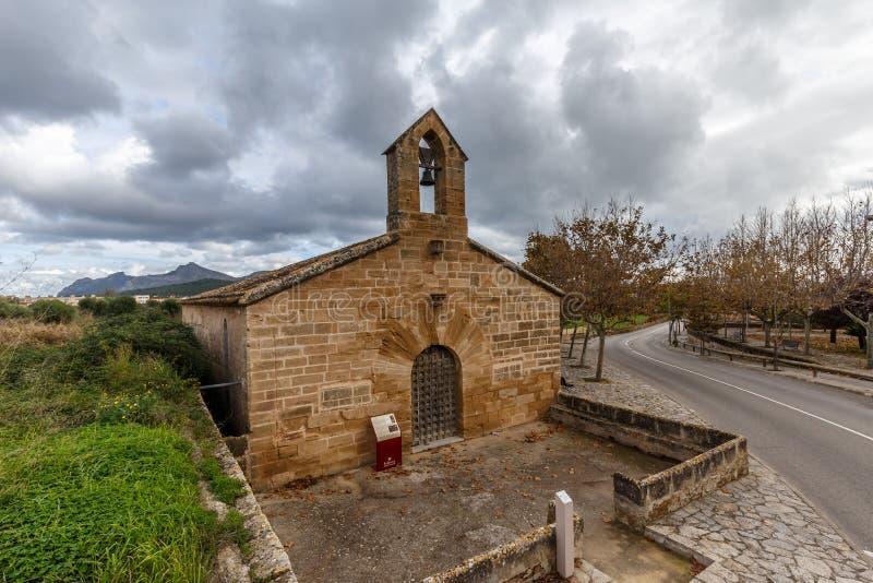 Kerk van Santa Anna in Alcudia royalty-vrije stock foto's