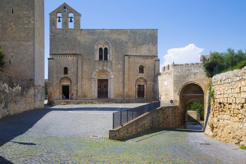 Kerk van Santa Maria di Castello stock afbeeldingen