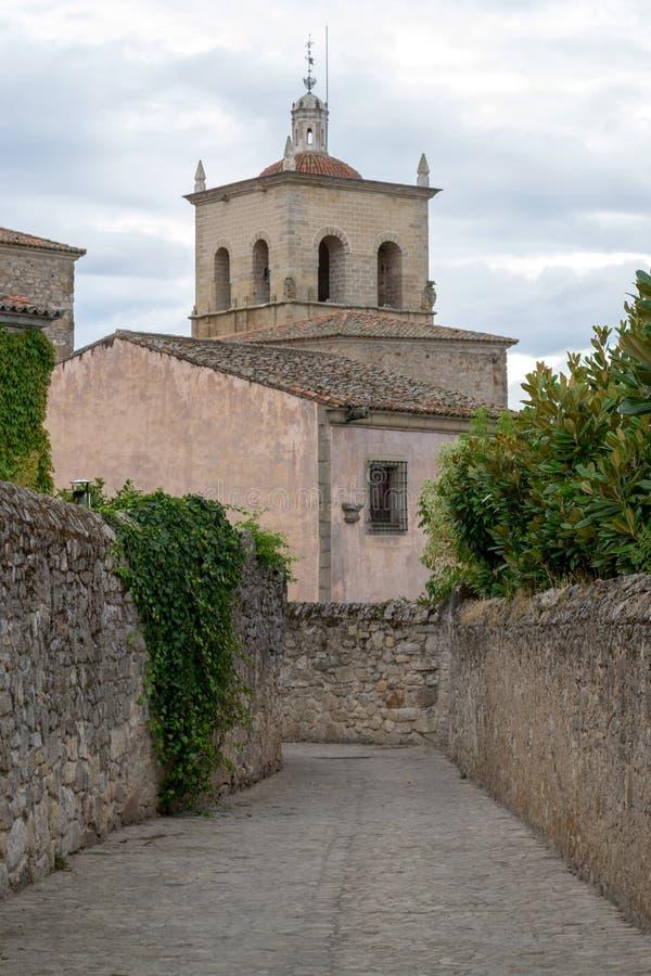 Kerk van Santa Maria la Mayor (Trujillo, Spanje royalty-vrije stock afbeelding