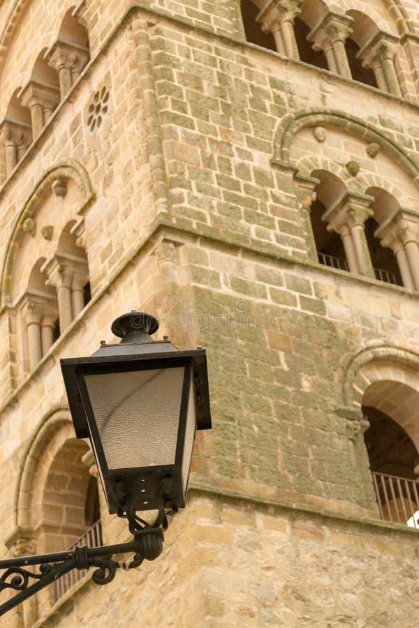 Kerk van Santa Maria la Mayor (Trujillo, Spanje stock fotografie