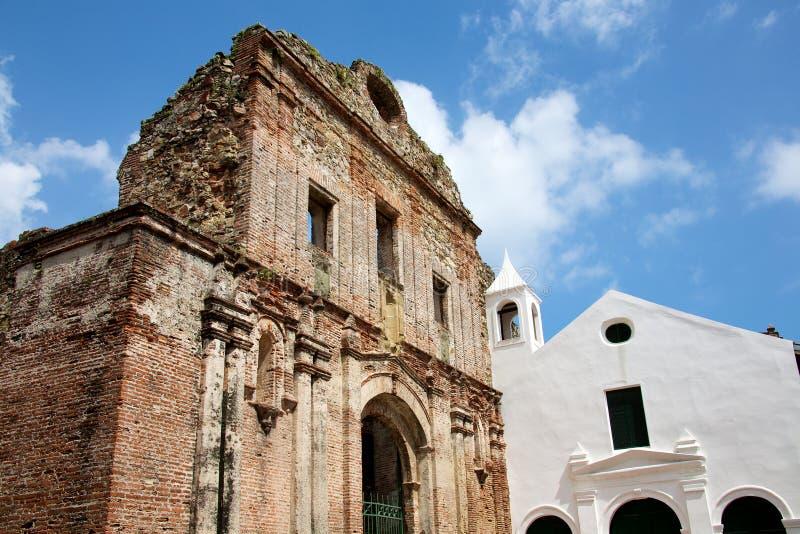 Kerk van Santo Domingo stock foto's