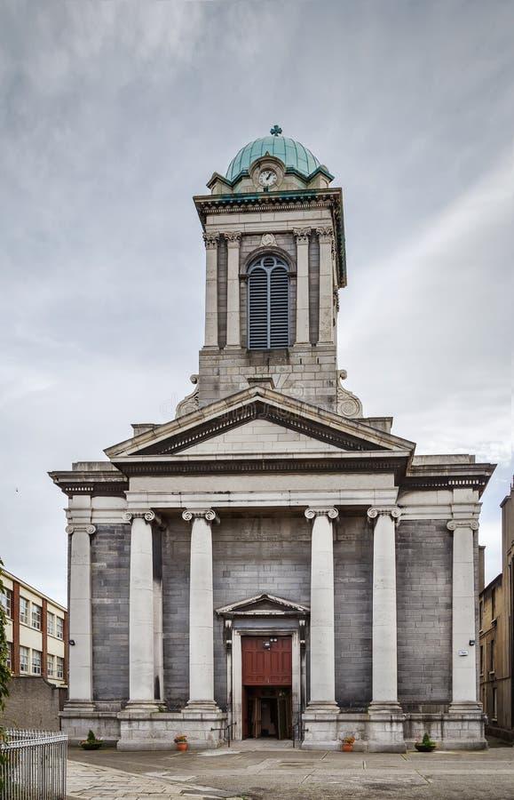Kerk van Sinterklaas van Myra, Dublin, Ierland stock afbeeldingen