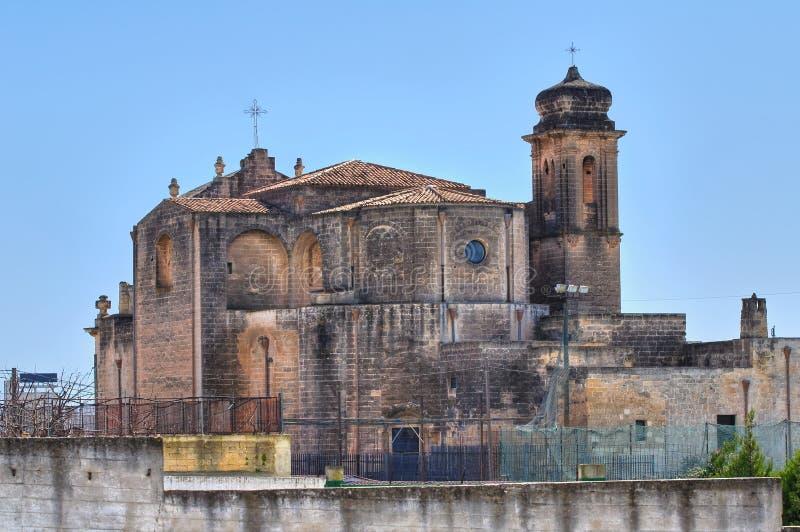 Kerk van St. Agostino. Massafra. Puglia. Italië. royalty-vrije stock afbeeldingen