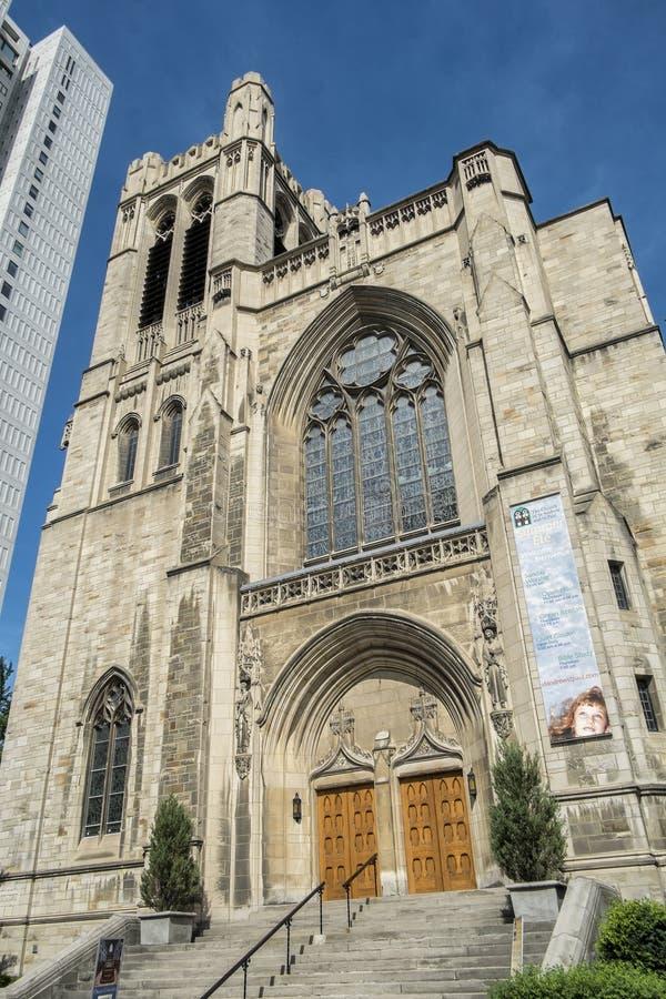 Kerk van St Andrew en St Paul stock foto