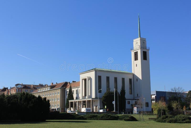 Kerk van st Augustin in Brno, Tsjechische republiek stock foto