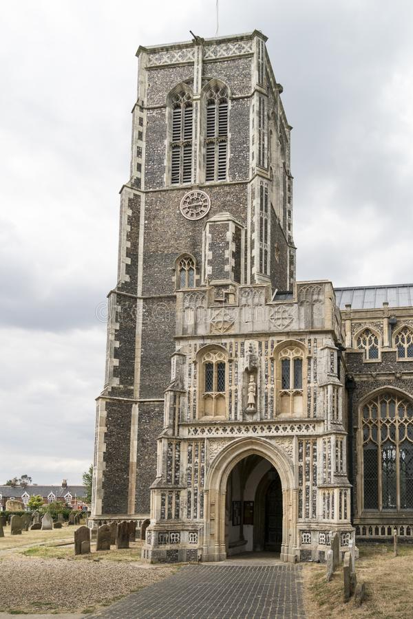 Kerk van St Edmund, Koning en Martelaar, Southwold royalty-vrije stock afbeelding