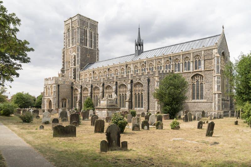 Kerk van St Edmund, Koning en Martelaar, Southwold royalty-vrije stock afbeeldingen