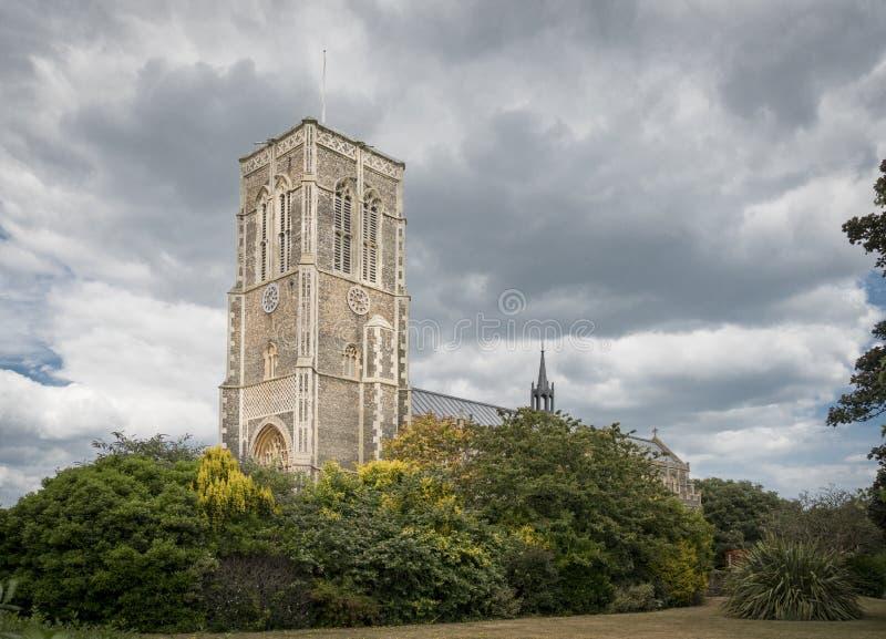 Kerk van St Edmund, Koning en Martelaar, Southwold royalty-vrije stock foto