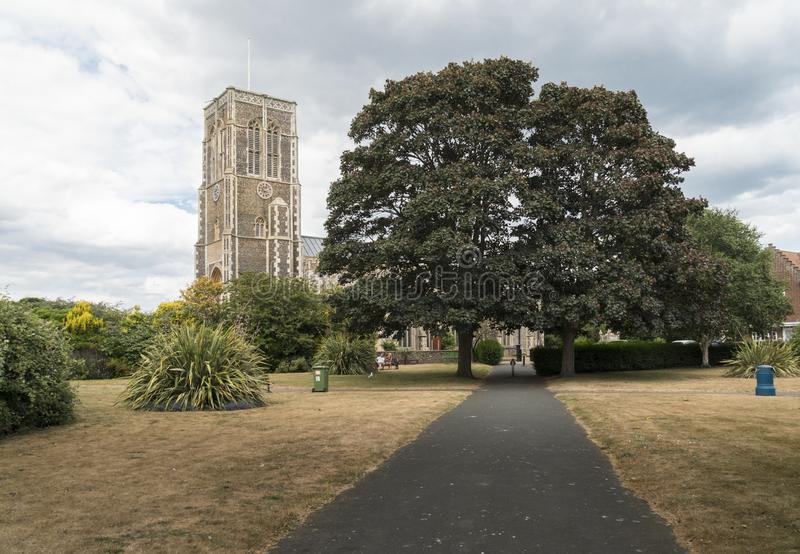 Kerk van St Edmund, Koning en Martelaar, Southwold royalty-vrije stock foto's