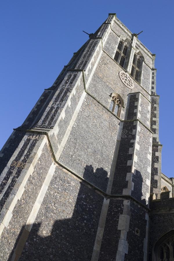 Kerk van St Edmund, Southwold, Suffolk, Engeland stock afbeelding